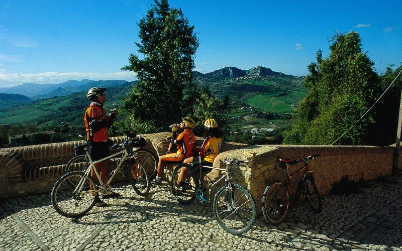 Cicloturismo in Valmarecchia
