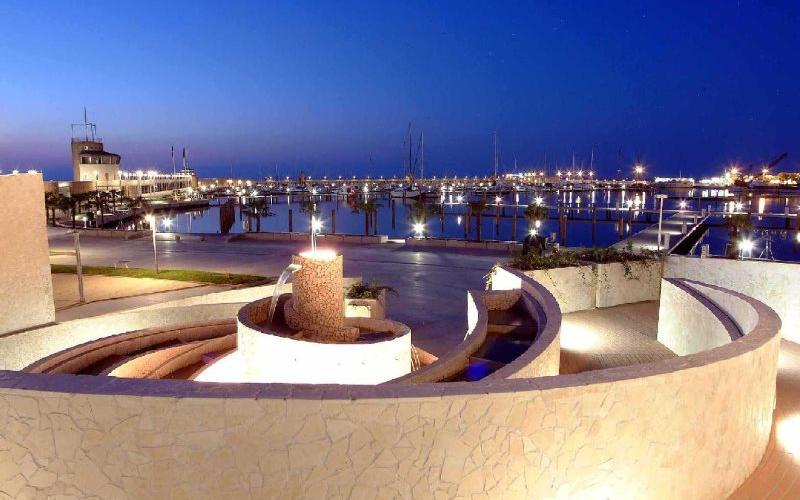 Marina di Rimini - by night
