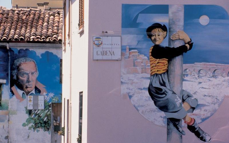 Murales al Borgo San Giuliano