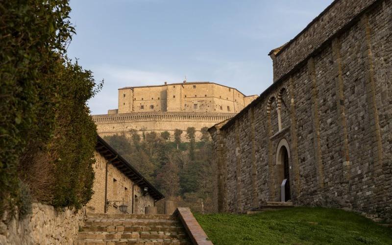 San Leo - la Rocca e la Pieve