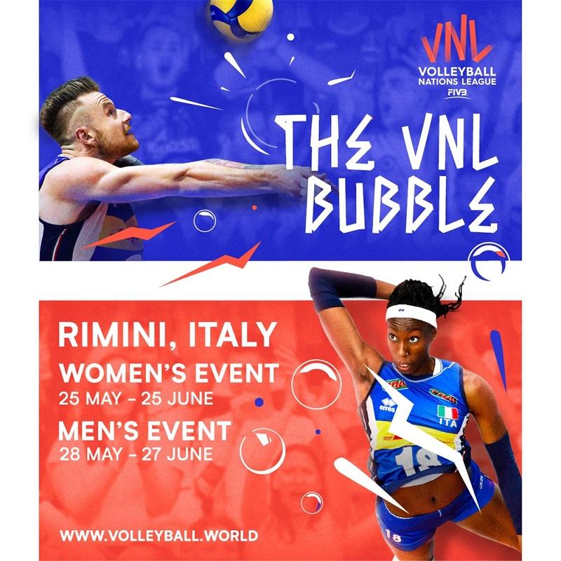 Volleyball Nations League 2021 femminile e maschile